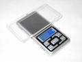 BDS MH-138 pocket jewelry scale palm
