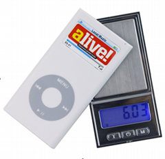 BDS-DH pocket jewelry scale protable electronic scale