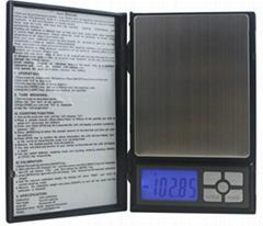 深圳北斗星衡器笔记本一代1108电子秤手掌秤口袋秤珠宝秤