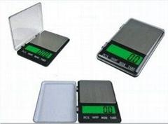 深圳北斗星笔记本二代1108-2电子秤口袋秤手掌秤珠宝秤