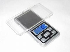 BDS-MH pocket scale plam