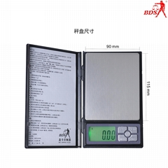 BDS1108 pocket scale china supplier electronic scale factory weighing