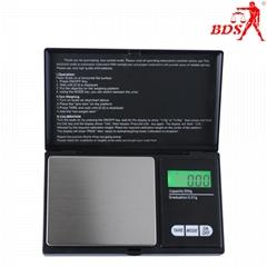 BDS-CS深圳北斗星衡器珠寶秤口袋秤電子秤500g便攜電子秤生產廠家