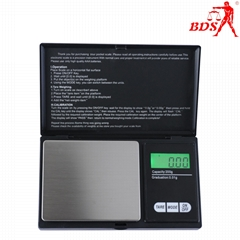 BDS CS jewelrypocket scale palm scale electronic scale manufacturer