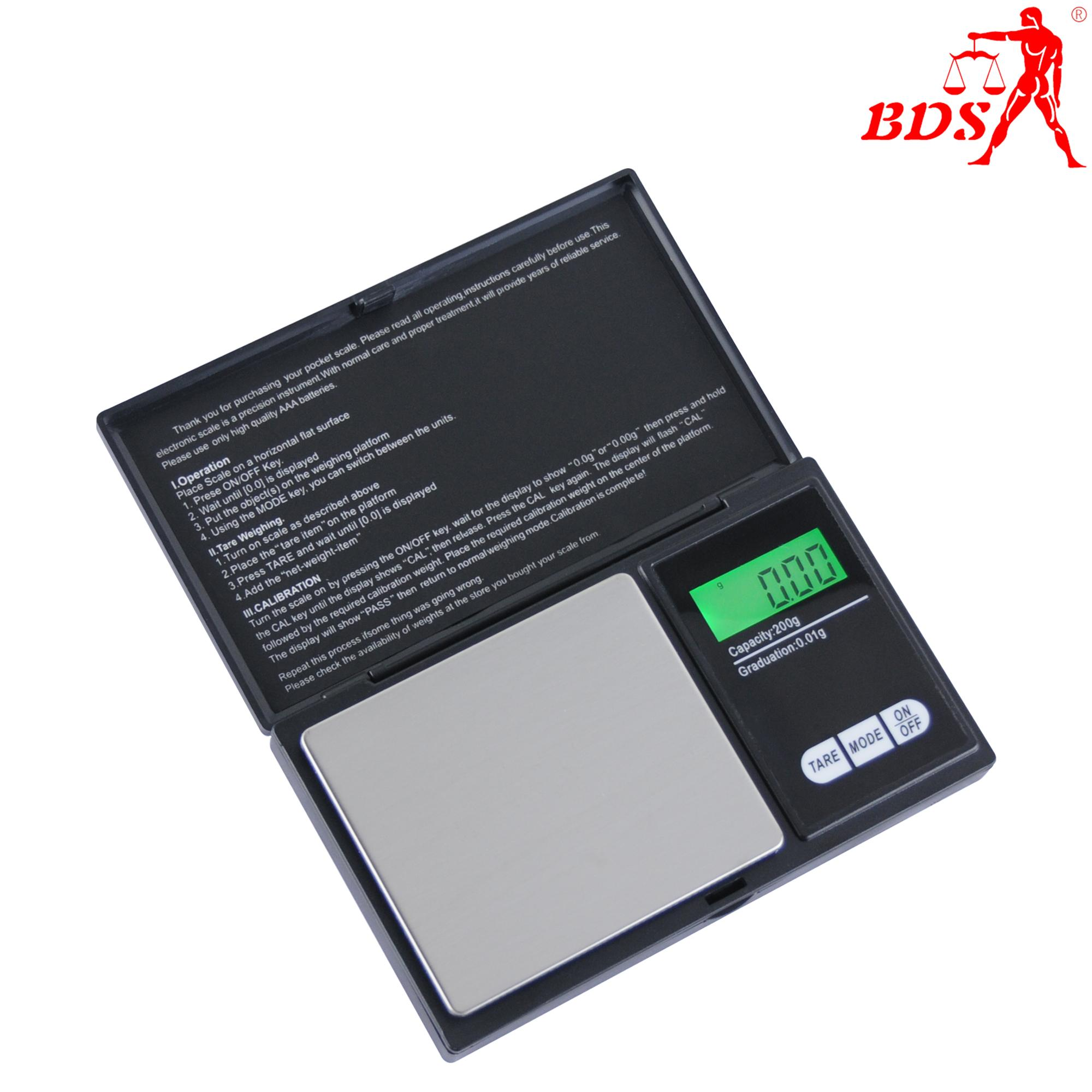 BDS CS pocket jewelry scale electronic scale weighing scale factory  3