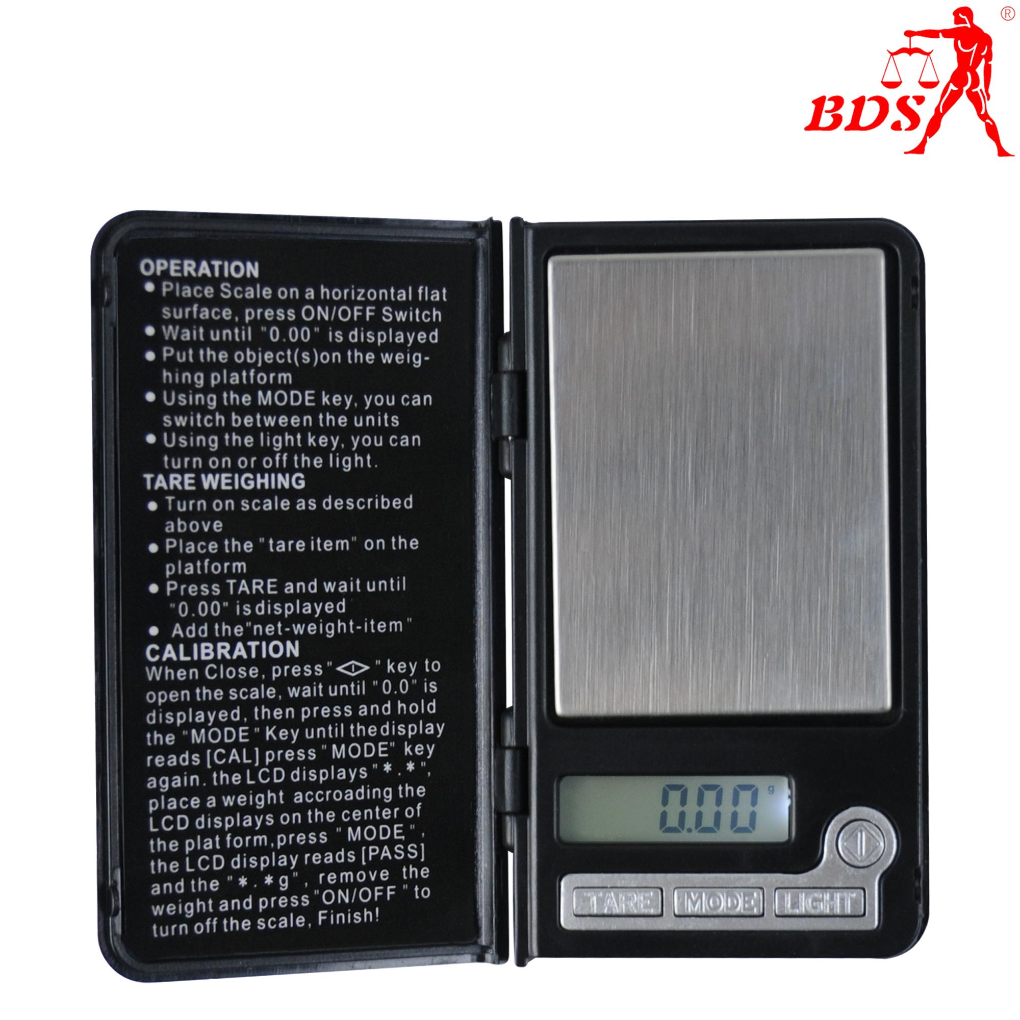 BDS-808 jewelry pocket scale palm scale electronic scale  2