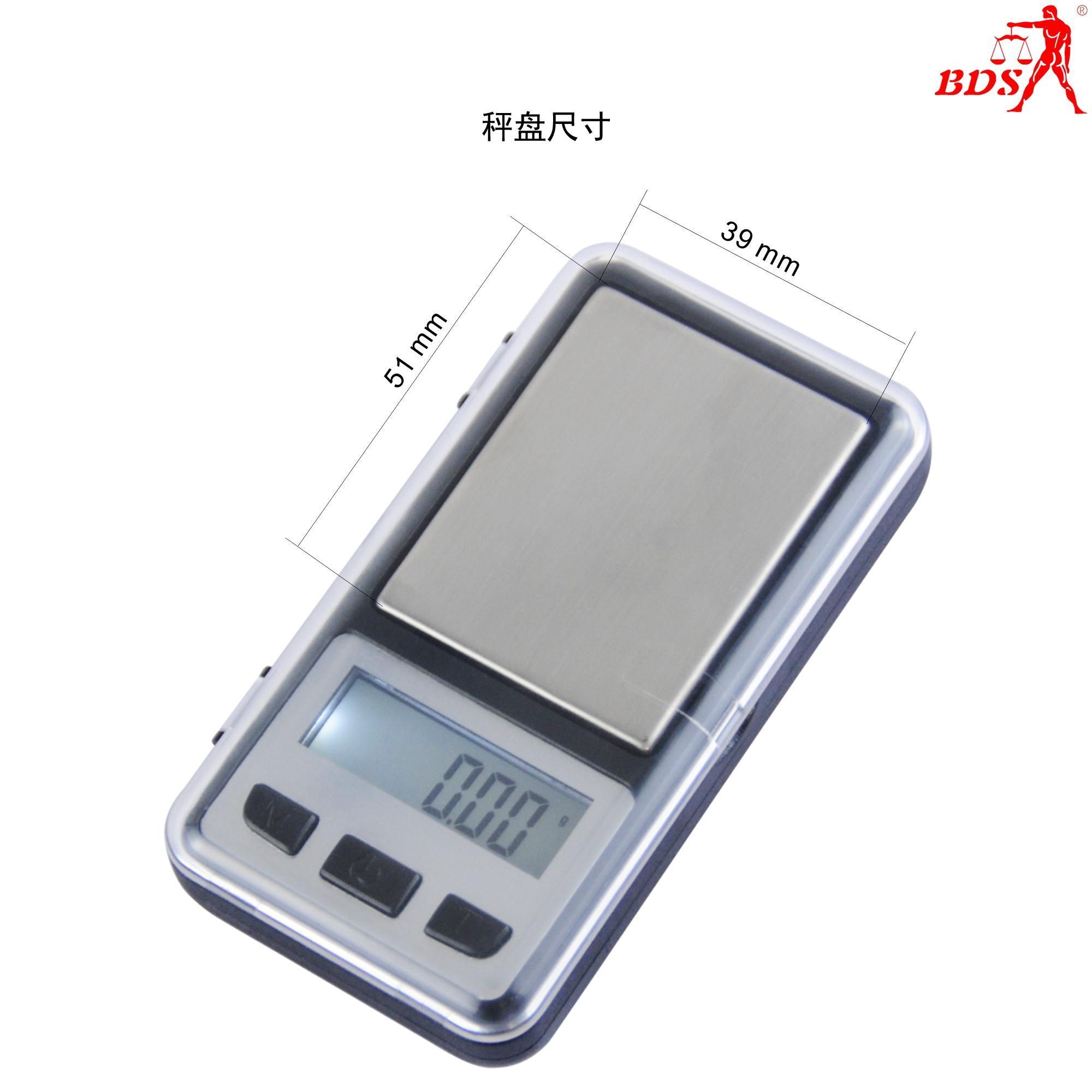 深圳北斗星衡器BDS6010便攜式電子口袋秤,珠寶秤 4