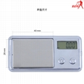 BDS908 precision jewelry weighing scales 0.01g digital pocket scales 4