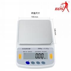 深圳北斗星衡器精密6kg/0.1g天平秤生产厂家