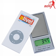 BDS DH jewelry pocket scale palm scale protable scale