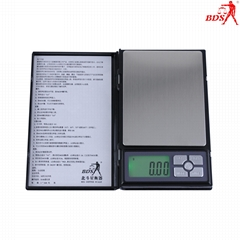 Shenzhen BDS1108  precision 0.01g jewelry scale, pocket scale