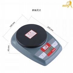 深圳北斗星衡器6011教学天平秤电子秤厨房秤