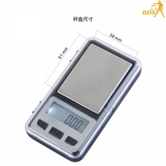 BDS 6010 smart digital pocket scales mini weighing  scale