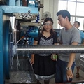 石家莊仁春不鏽鋼約翰遜過濾篩管焊接機 1