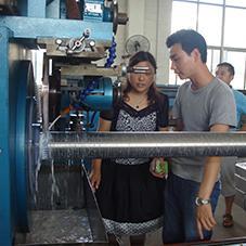 CNC silt filter tube welding machine HWJ600