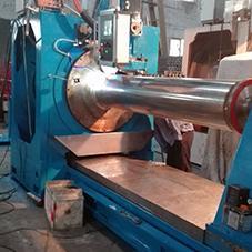 CNC silt filter tube welding machine HWJ600 2