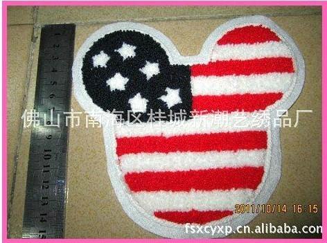 服裝輔料毛巾繡 2
