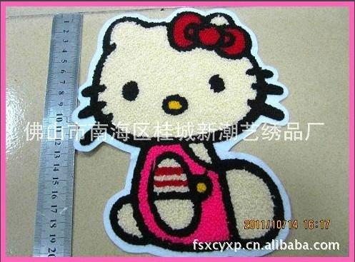 服裝輔料毛巾繡 3