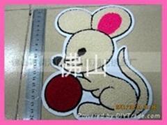 服裝輔料繡花商標