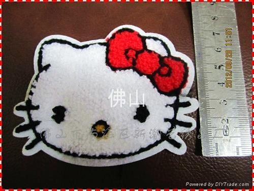 服裝輔料毛巾繡商標 1