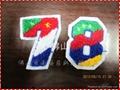 服装辅料毛巾绣商标 3
