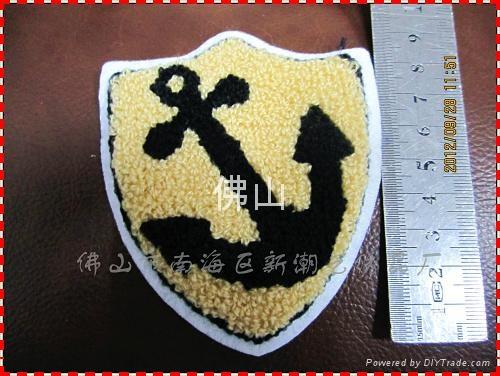 服装辅料毛巾绣商标 4