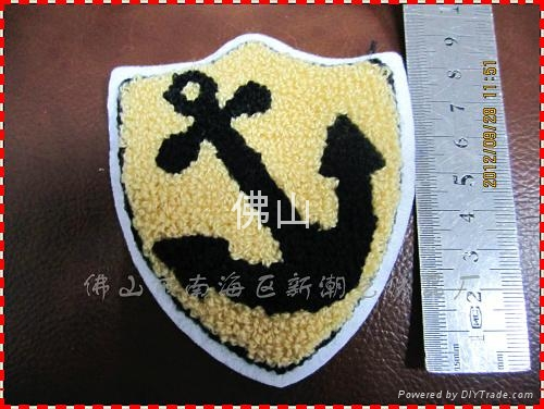 服裝輔料毛巾繡商標 4
