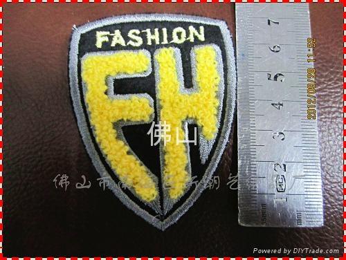 服裝輔料毛巾繡商標 5