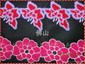 广州毛巾绣服装花边 3