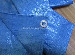 ready to use waterproof pe tarpaulin/poly tarps cover