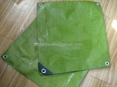All Sizes Green tarpaulin waterproof sheet cover ground camping tarp