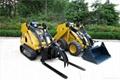 Wheeld mini excavator KUBOTA diesl