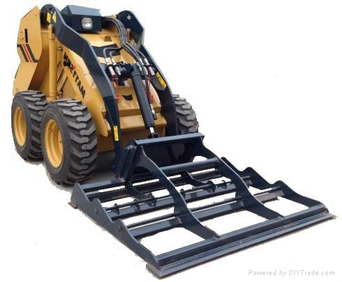 Mattson mini skid steer loader made in china forestry