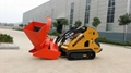 MATTSON mini skid steer loader with 25HP