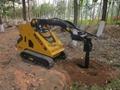 Earth auger drill bit for mini skid steer loader 3