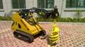 Earth auger drill bit for mini skid steer loader 4