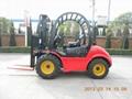 Rough Terrain Fork Lift Truck 3.0T Capacity 1