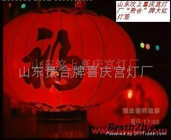 Bamboo archaize gauze lantern    3