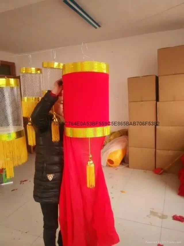 钢丝大红灯笼 2