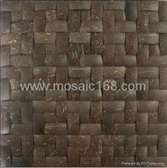 天然椰殼馬賽克裝飾板