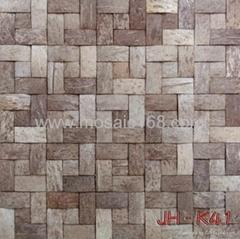 椰壳马赛克装饰板