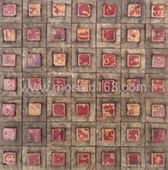 陶瓷椰壳马赛克装饰板
