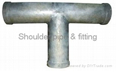 Tee  - Shouldered Pipe Fitting