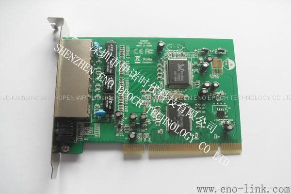 n-link 4 port 10/100Mbps ethernet switch card high speed 4 port network card 1