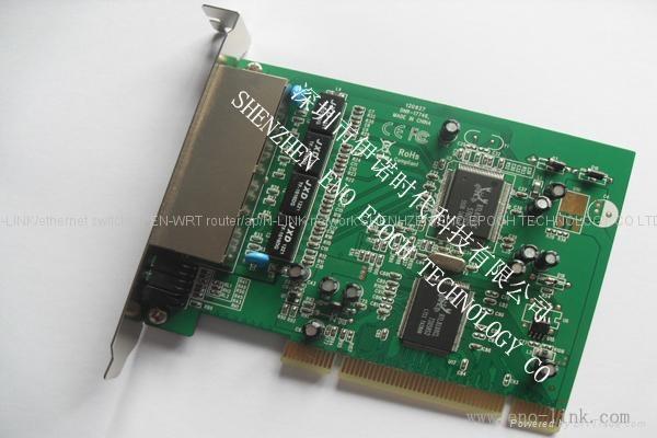 n-link 4 port 10/100Mbps ethernet switch card high speed 4 port network card 2