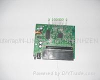 shenzhen n-link ar9331 openwrt/ddwrt wireless router pcba