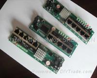 OEM 2/3/5/8/16/24 port ethernet switch module network switch pcba 1