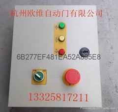 Rapid rolling door inverter control box