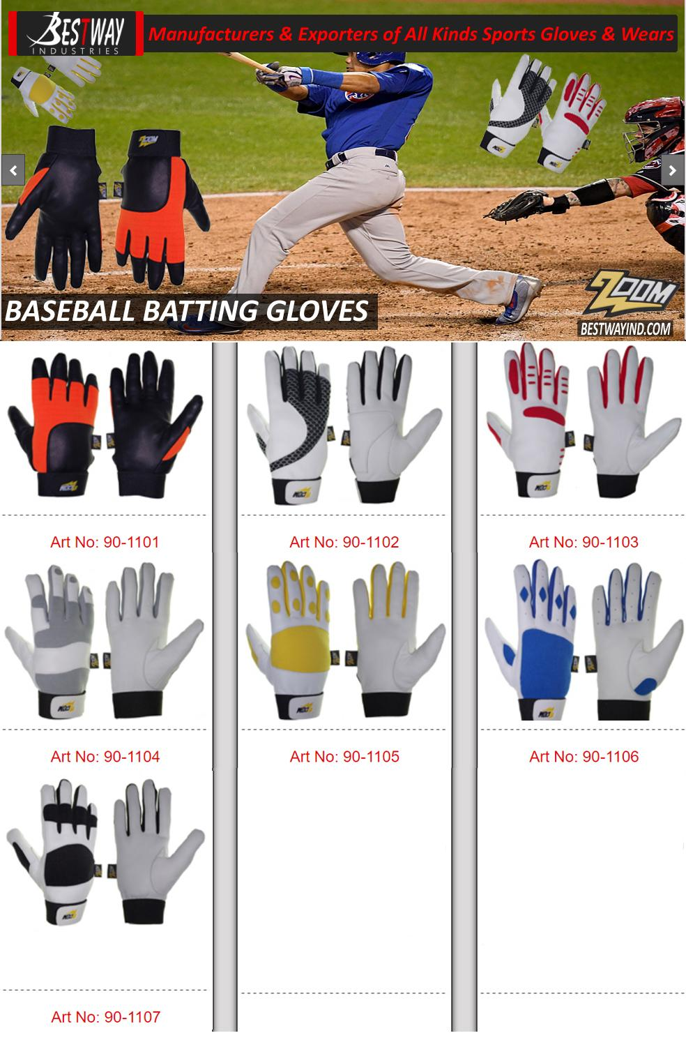 Baseball Batting Gloves 5