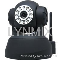 32G SD Card Pan/Tilt Popular Indoor IP Wifi Robot Camera